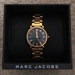 Muliti-colored face Marc Jacobs watch